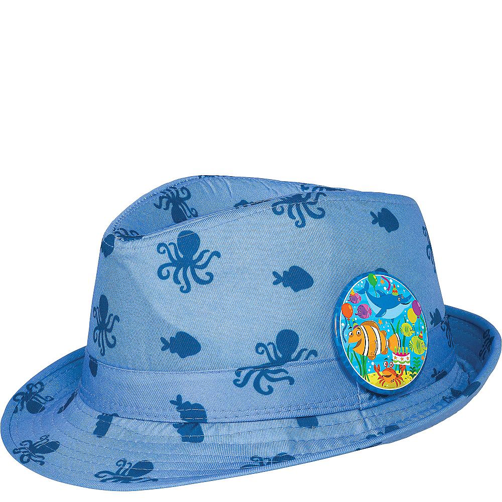 Child Under the Sea Birthday Fedora Image #1