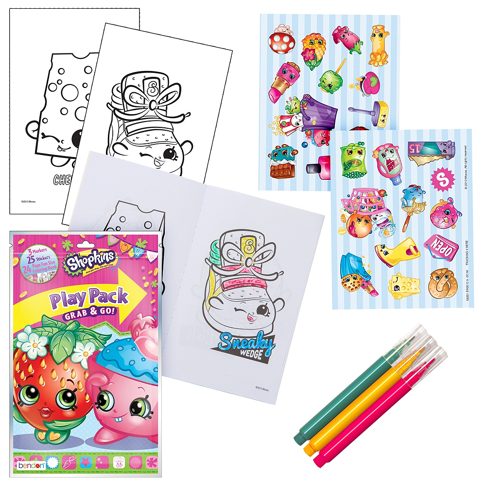 Nav Item for Shopkins Activity Kit Image #1