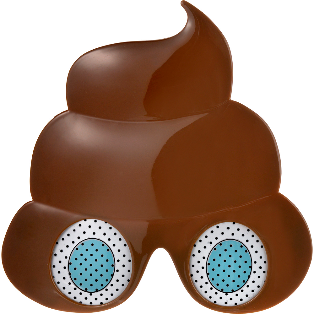 Poop Icon Glasses Image #1
