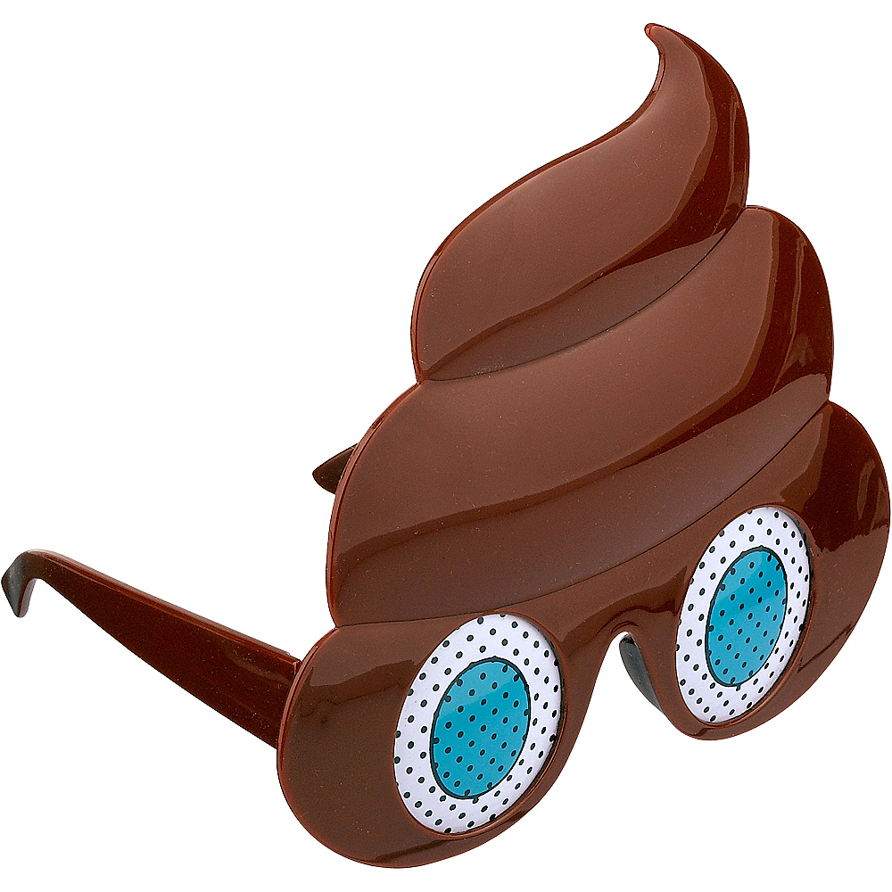 Poop Icon Glasses Image #2
