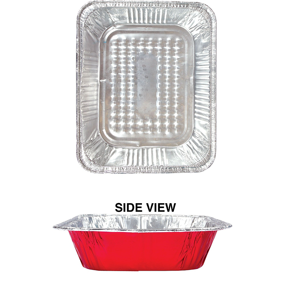 Red Chafing Dish Buffet Set 8pc Image #4