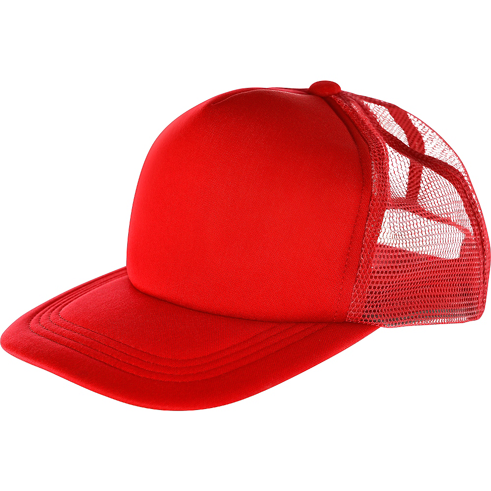 Red Baseball Hat Image #1