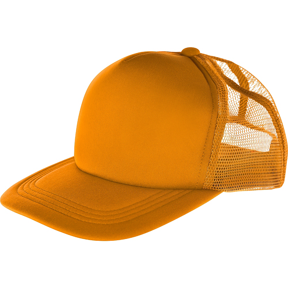 Orange Baseball Hat Image #1