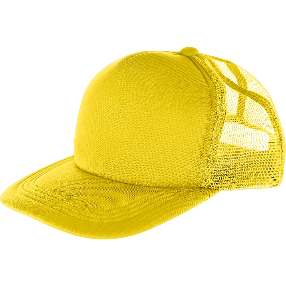 Yellow Baseball Hat Image #1