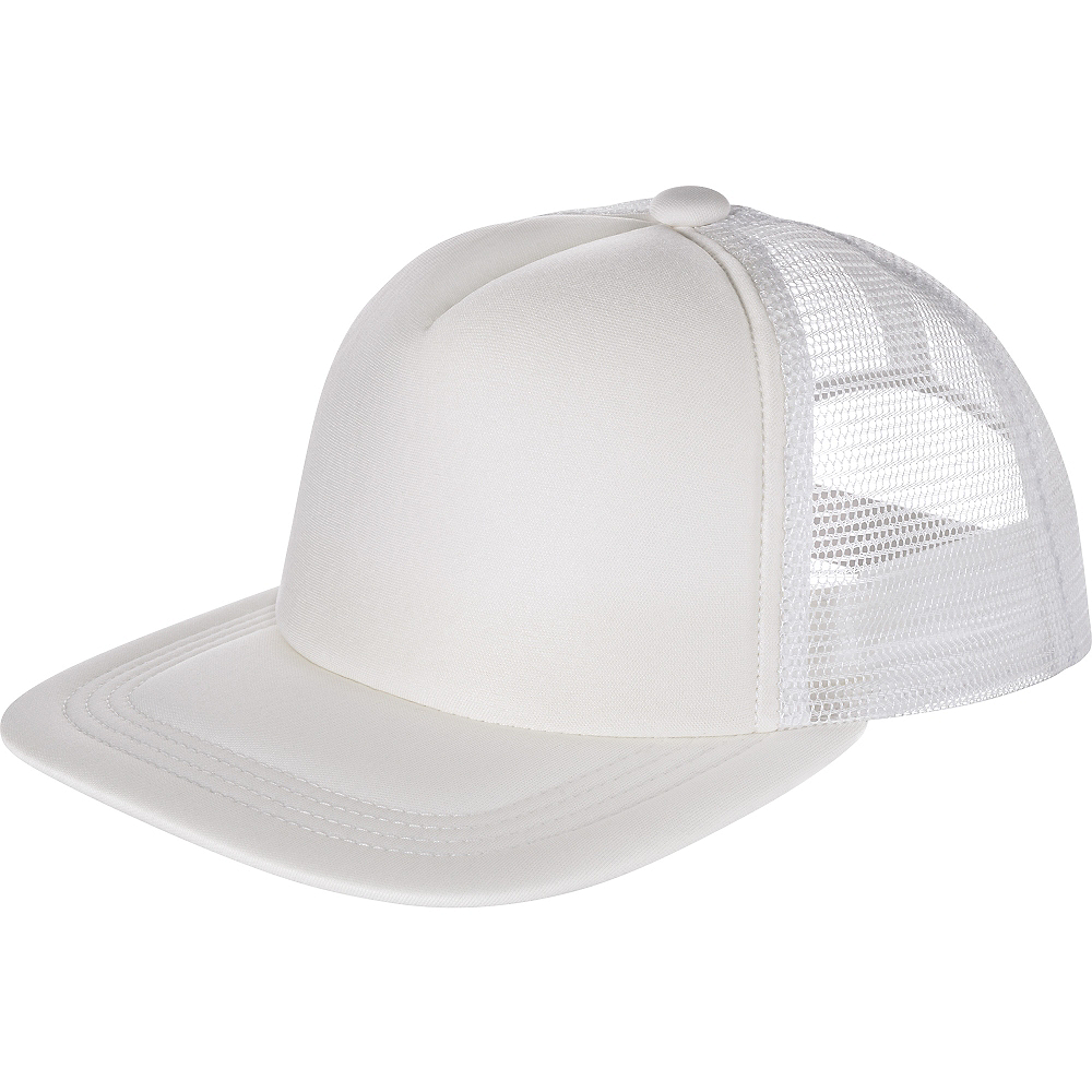 White Baseball Hat Image #1