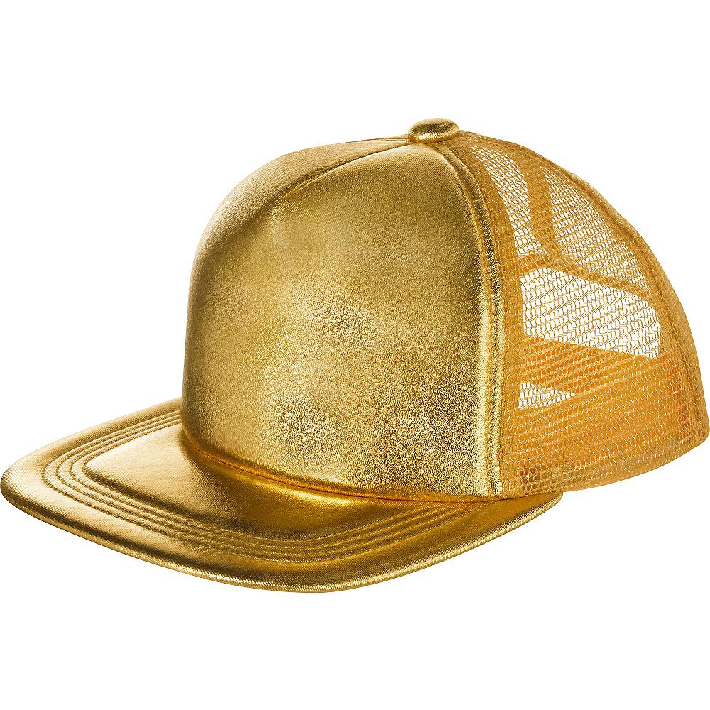 Gold Baseball Hat Image #1