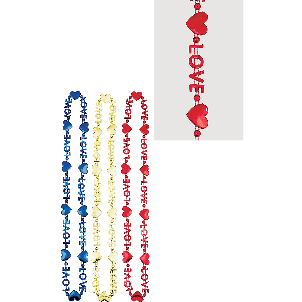 Love Bead Necklaces 3ct Image #1