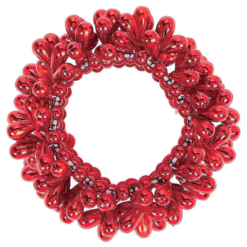Red Bead Bracelet Image #1