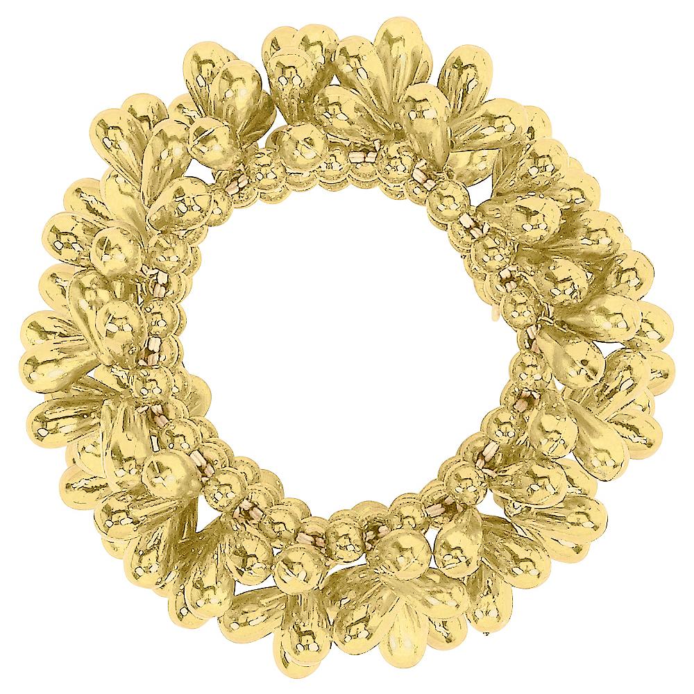 Gold Bead Bracelet Image #1