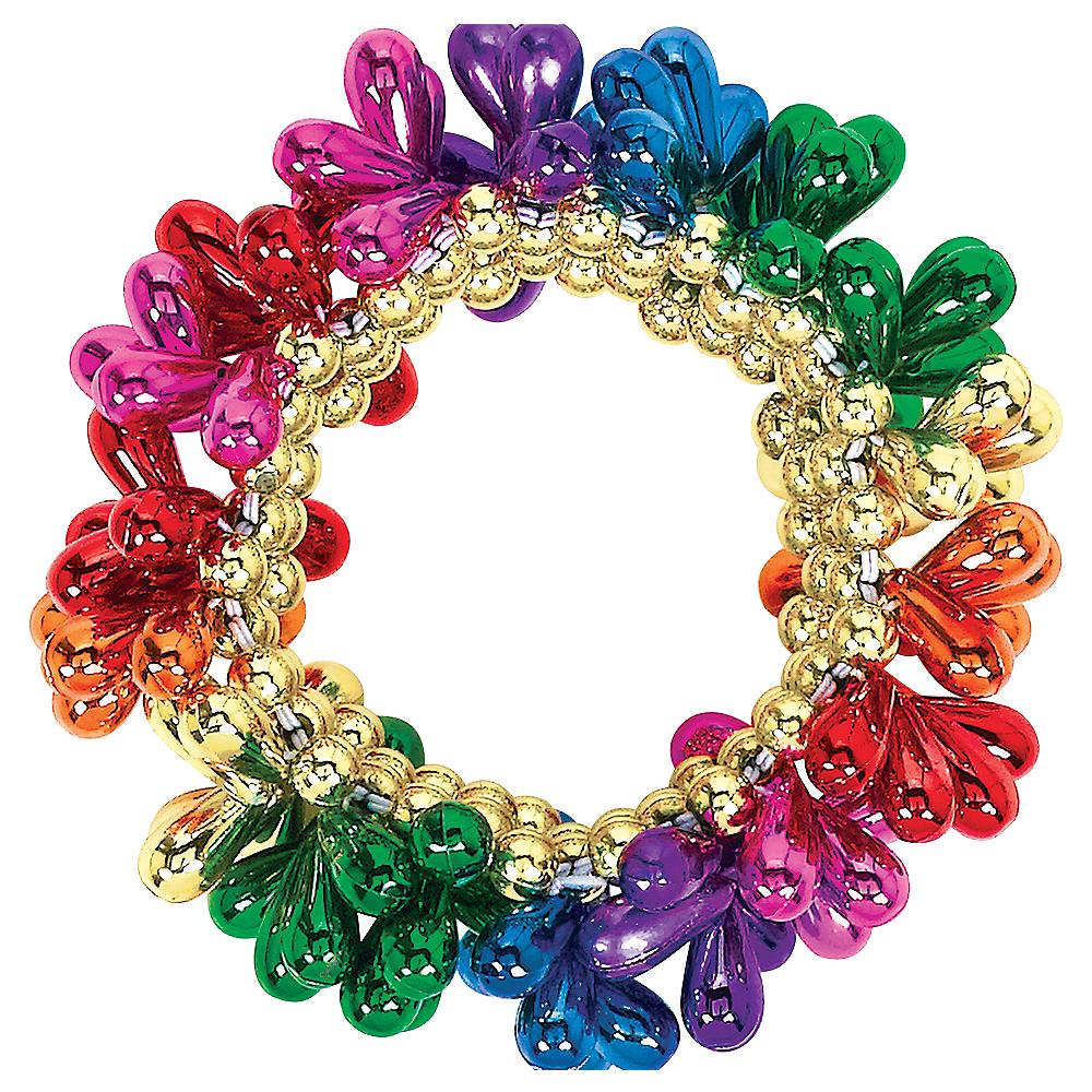 Rainbow Bead Bracelet Image #1