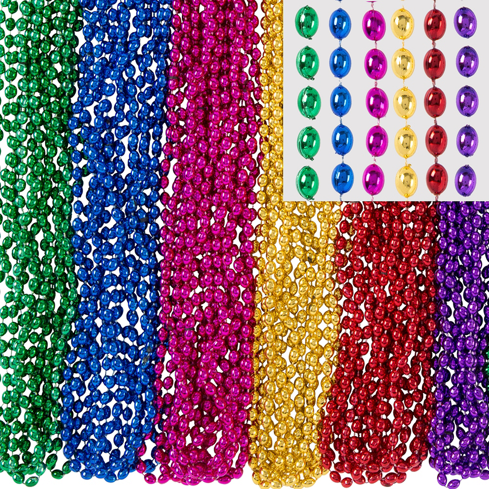 Multicolor Bead Necklaces 100ct Image #1