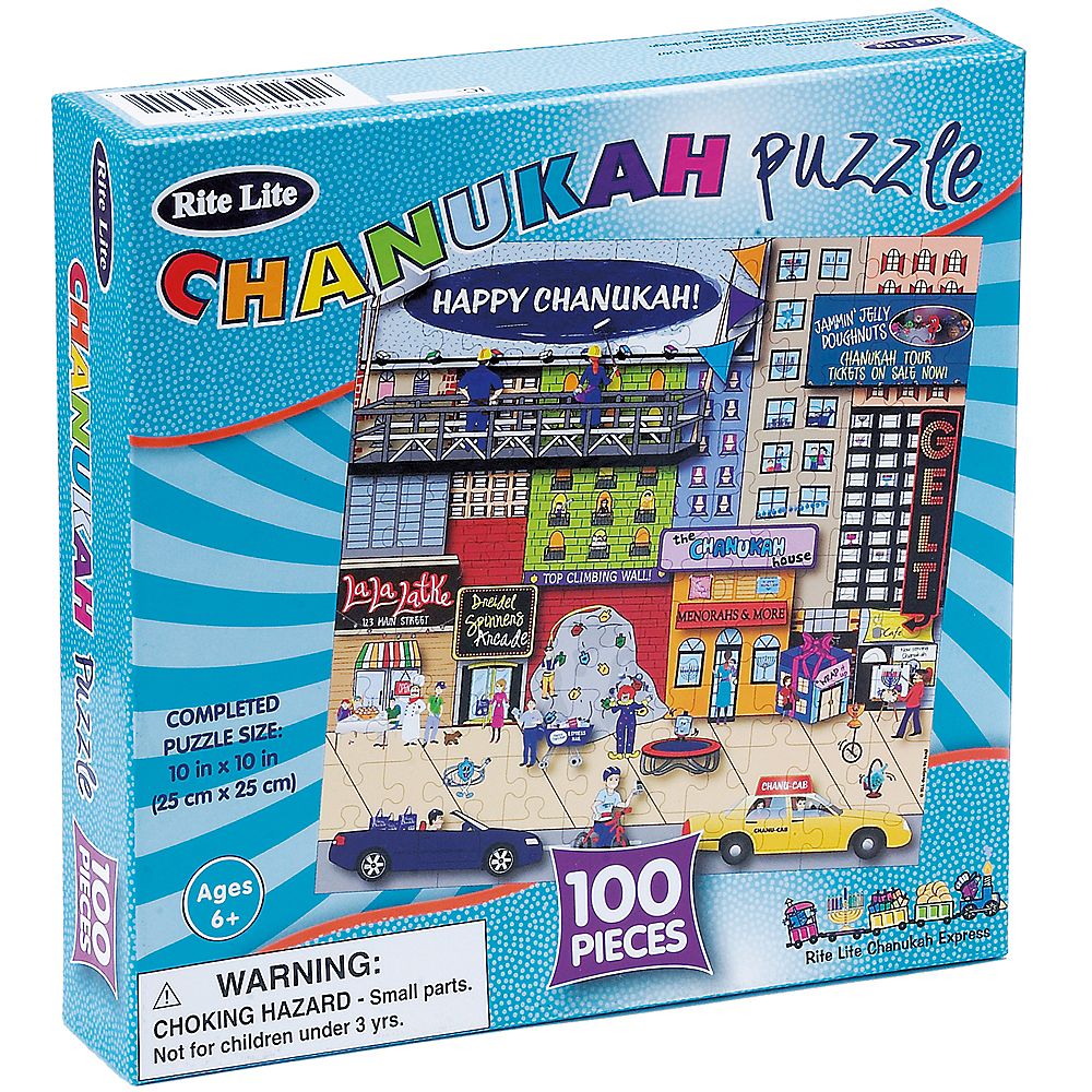 Nav Item for Hanukkah Puzzle 100pc Image #2