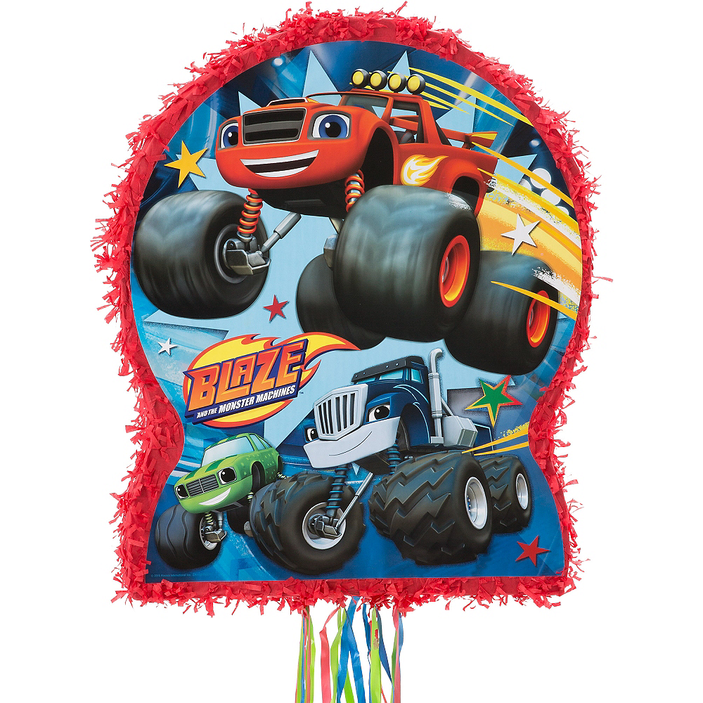 Pull String Blaze and the Monster Machines Pinata Image #1