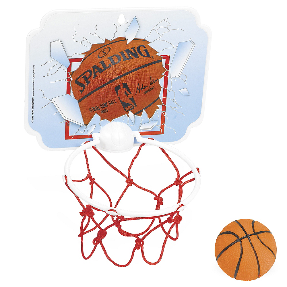 Spalding Basketball Hoop Game 6 1 2in X 5 1 4in Party City