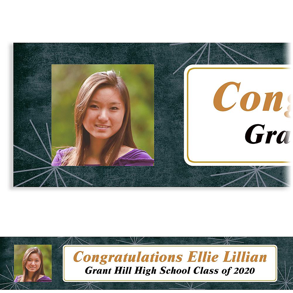 Custom Fireworks Script Graduation Photo Banner  Image #1