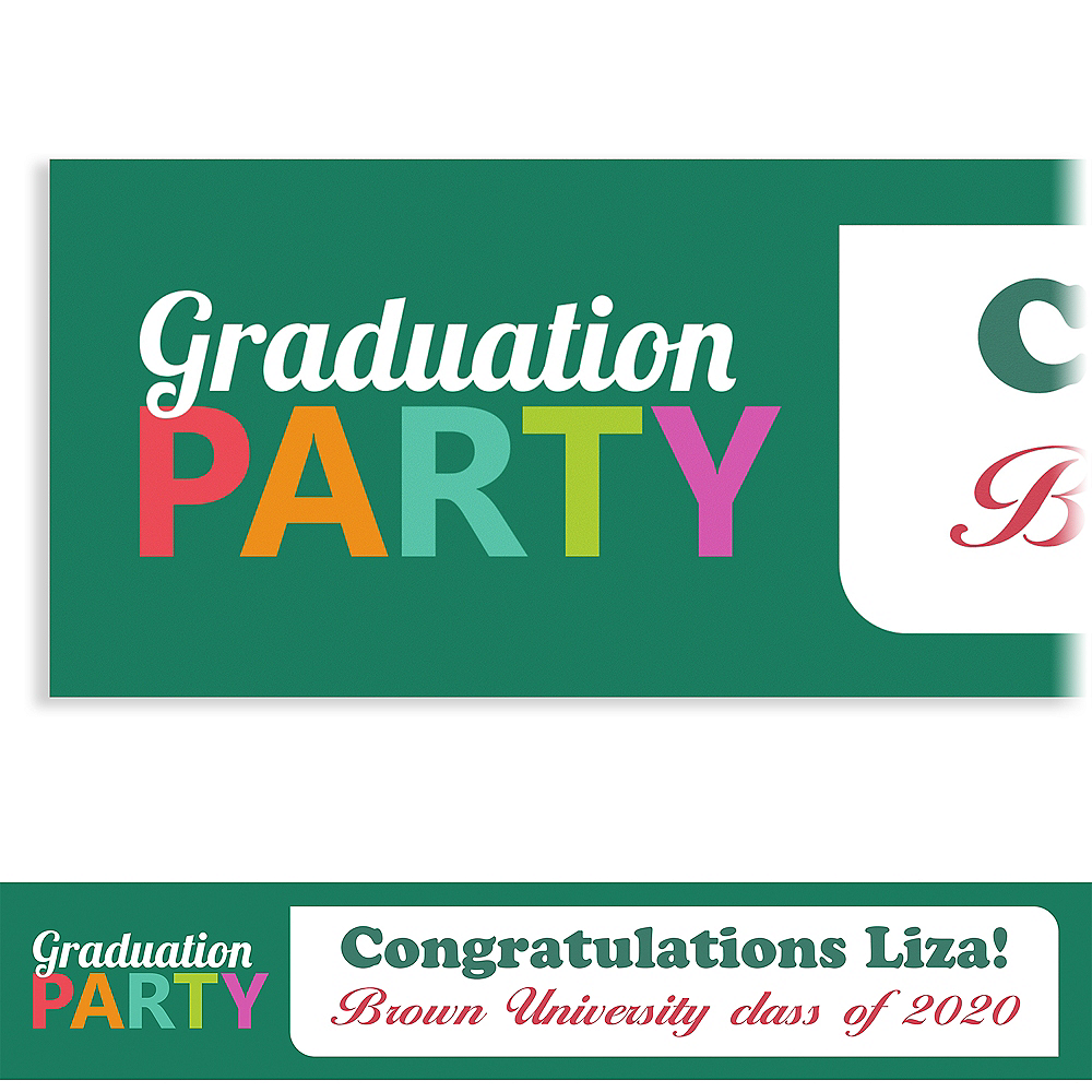 Nav Item for Custom Bright Grad Text Banner Image #1