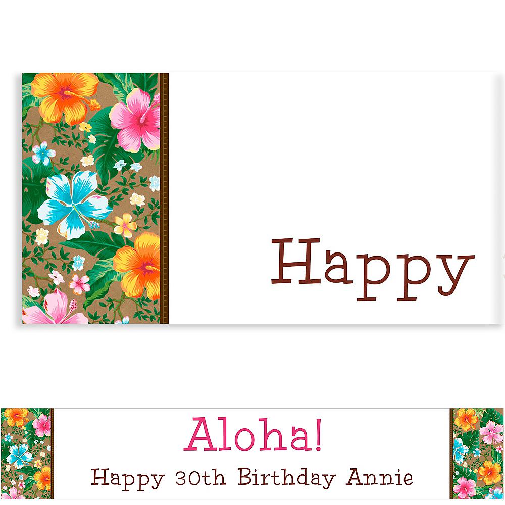 Custom Hawaiian Hibiscus Banner Image #1