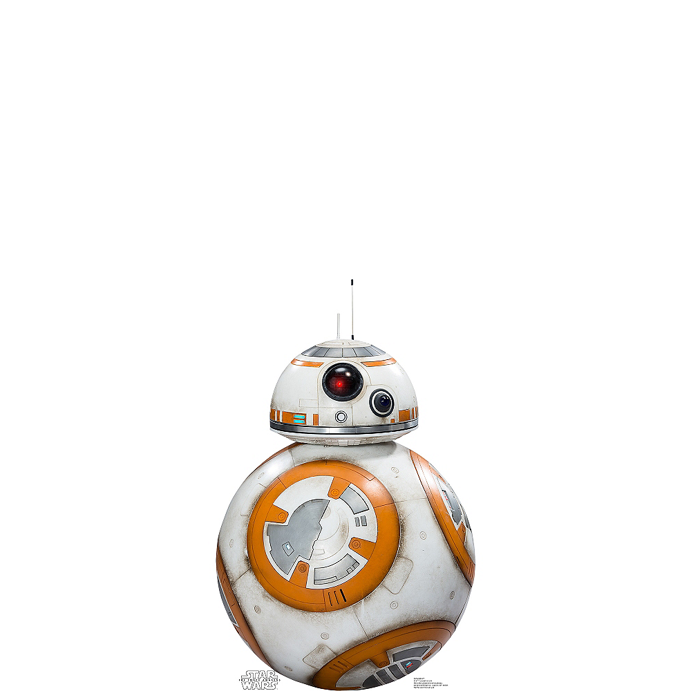 BB-8 Life Size Cardboard Cutout - Star Wars 7 The Force Awakens Image #1
