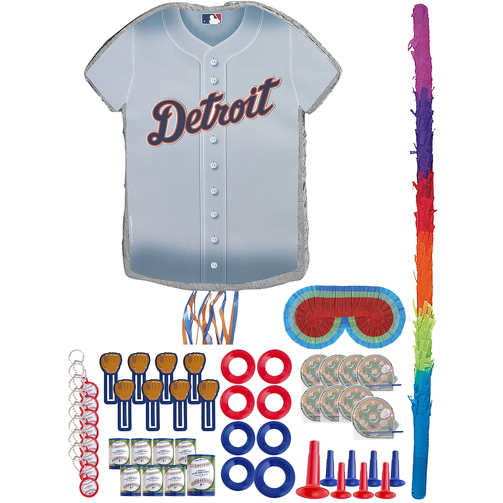 Detroit Tigers Pinata Kit with Favors Image #1