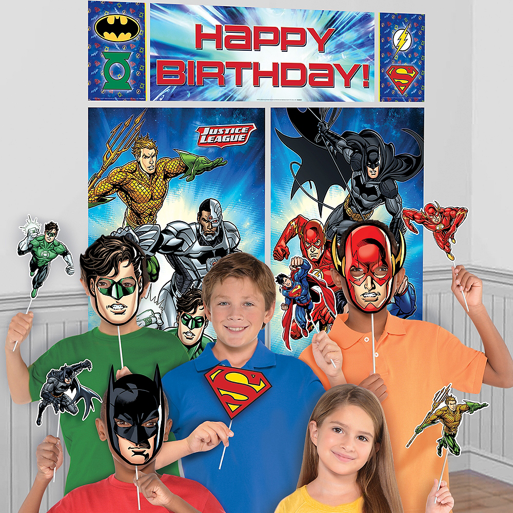 Justice League Photo Booth Kit Image #1