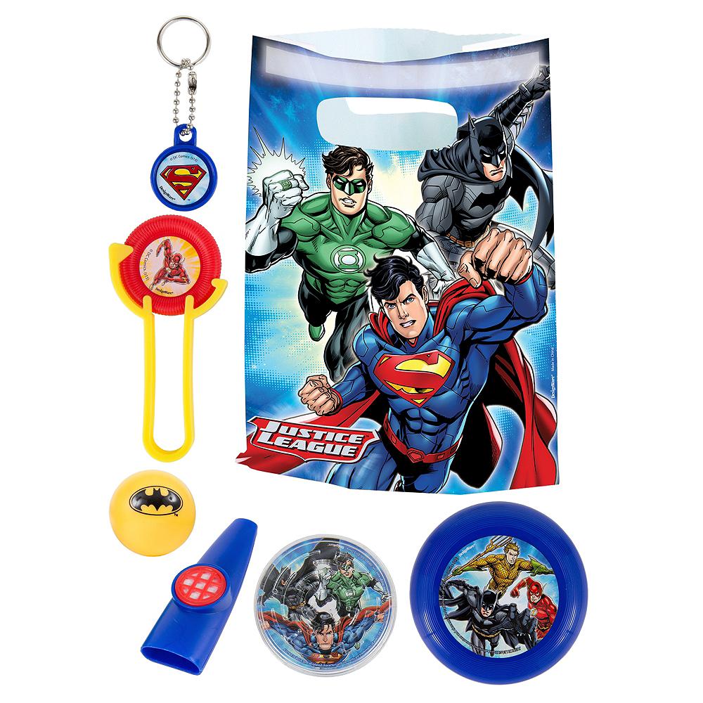 Justice League Basic Favor Kit for 8 Guests Image #1
