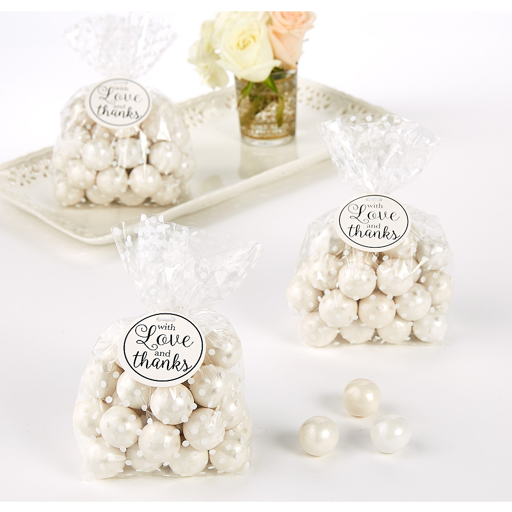 White Thank You Tags 25ct Image #1