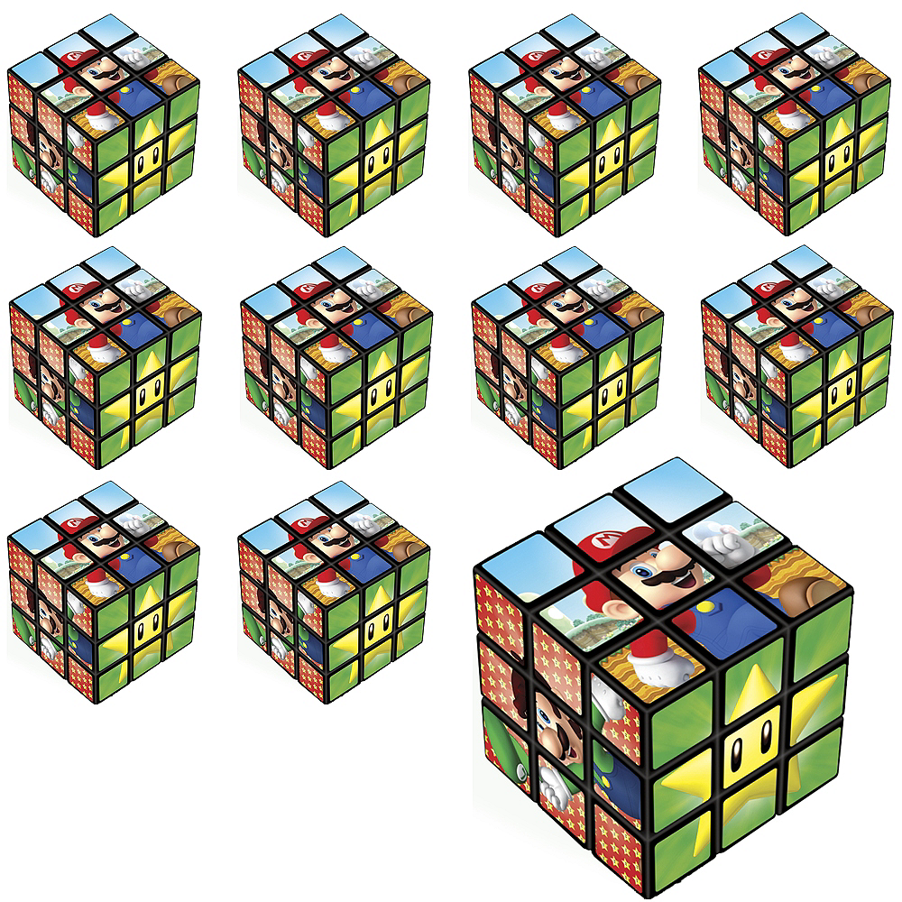 Nav Item for Super Mario Puzzle Cubes 24ct Image #1
