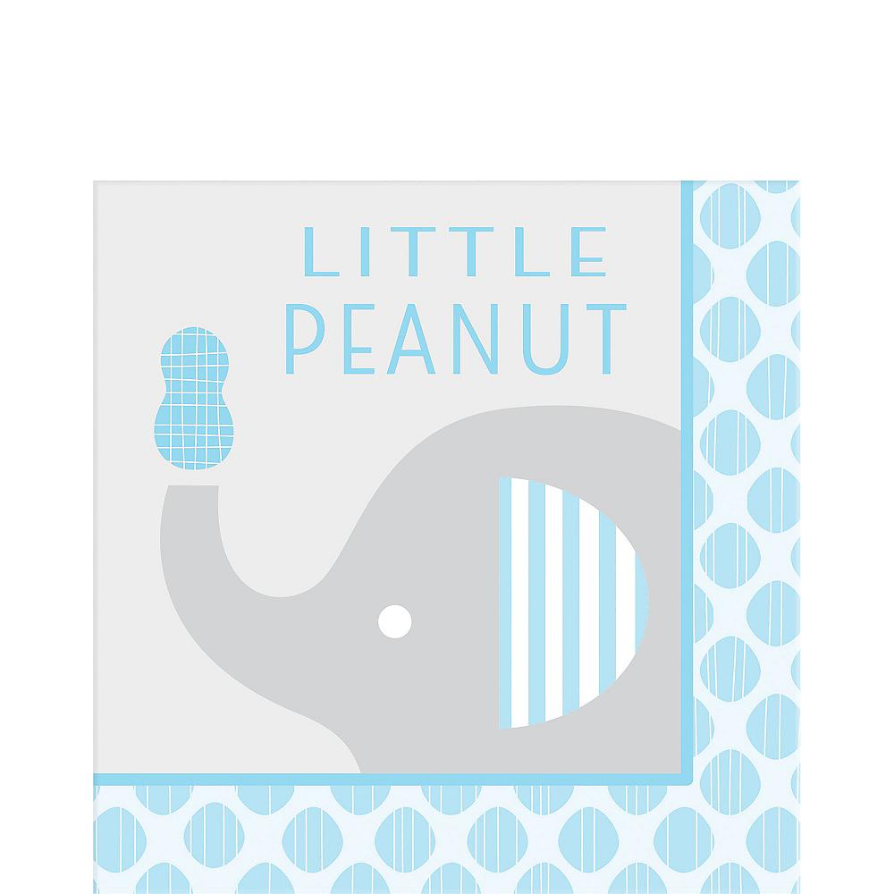 Blue Baby Elephant Little Peanut Lunch Napkins 16ct Image #1
