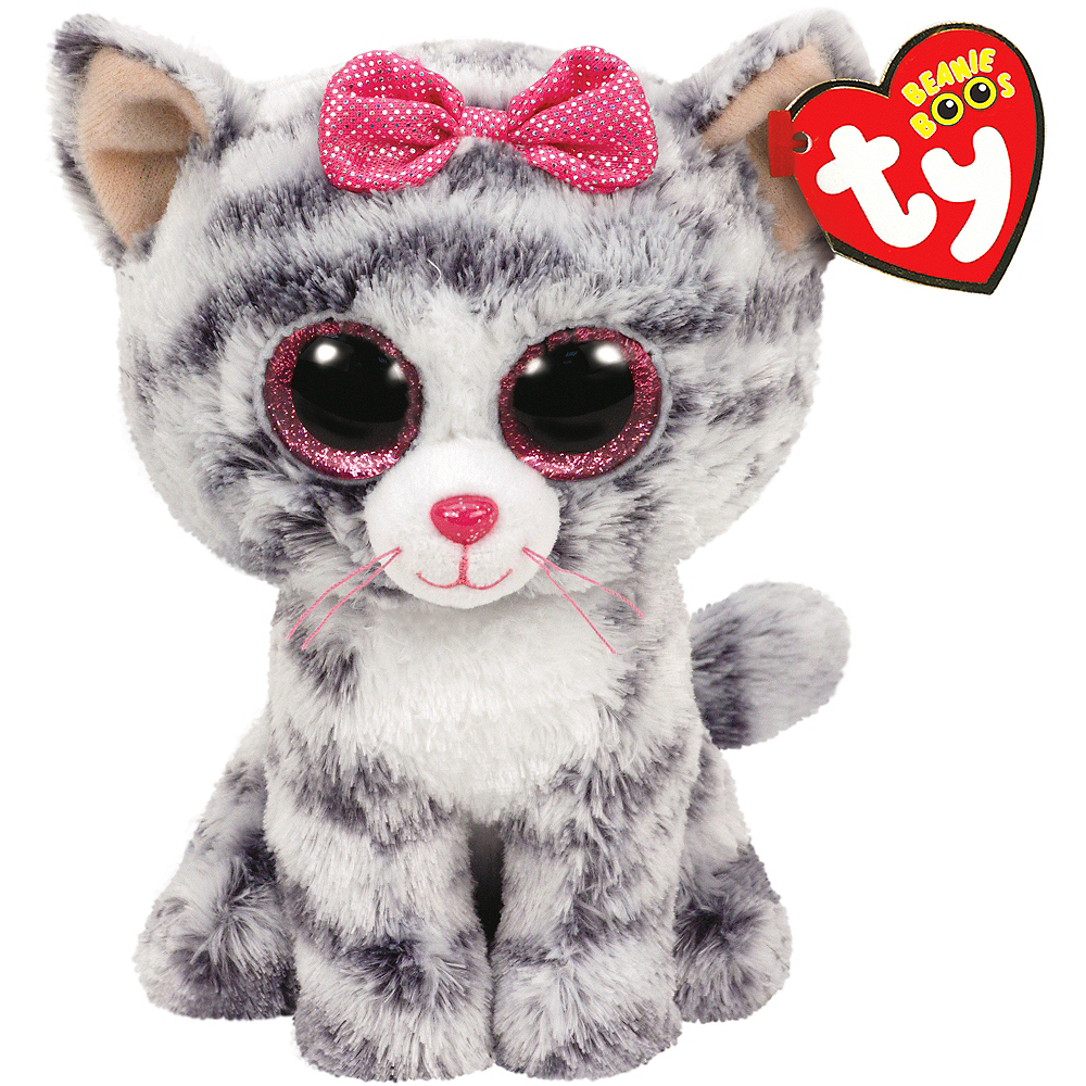 aaaa063e3ce Kiki Beanie Boo Cat Plush 4in x 6in