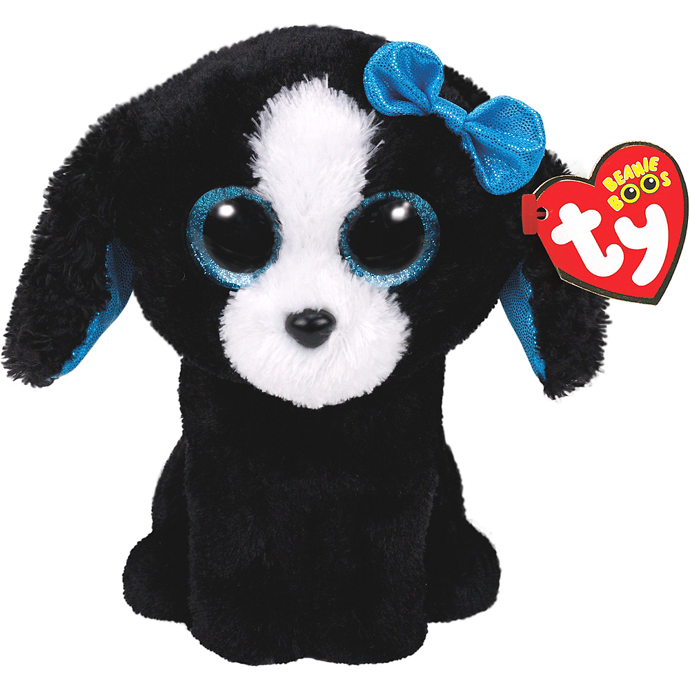 Nav Item for Tracey Beanie Boo Dog Plush Image #1