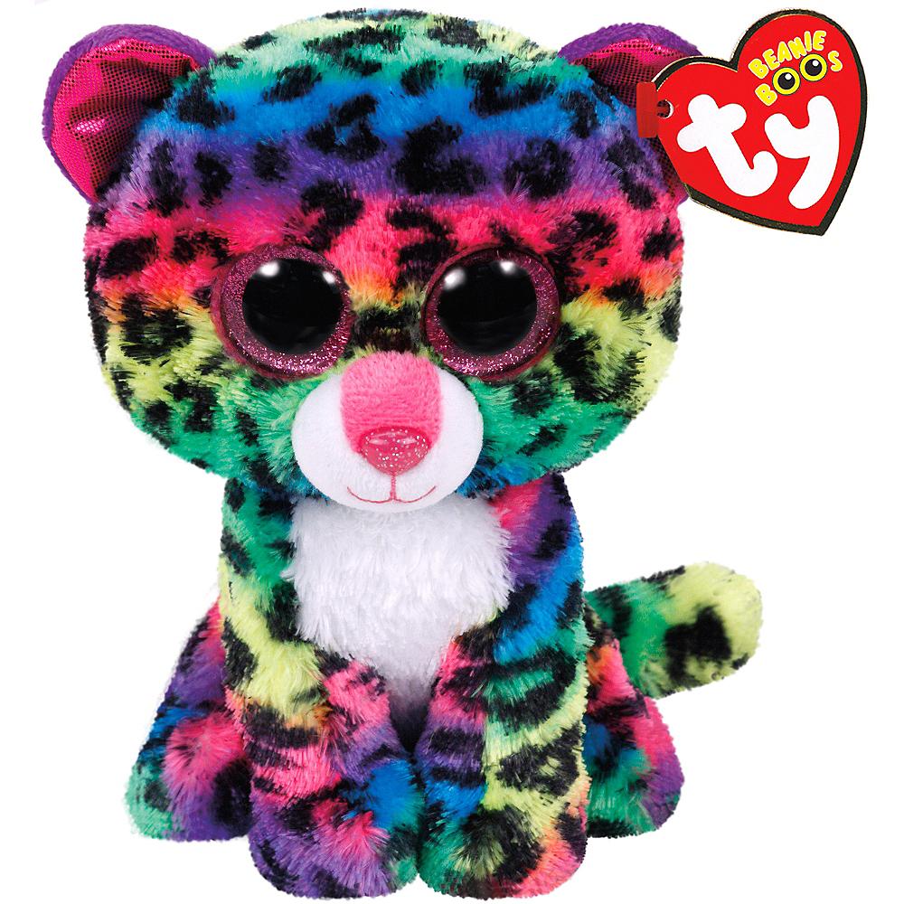 Dotty Beanie Boo Leopard Plush Image #1