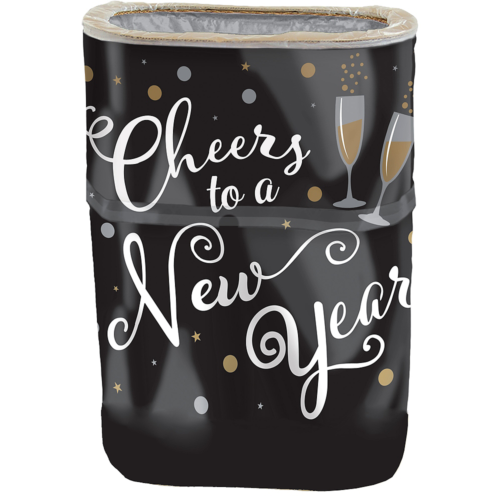 Cheers to a New Year Pop-Up Trash Bin Image #1