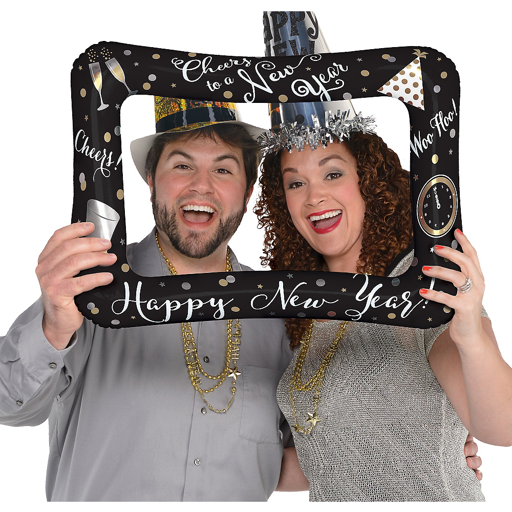 Inflatable New Year's Photo Frame Balloon Image #1