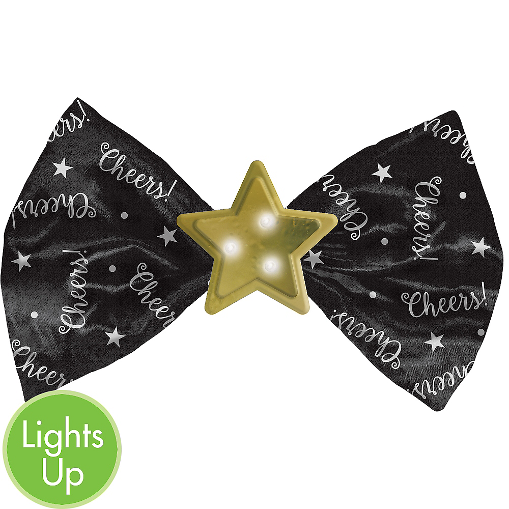 Light-Up Star Bow Tie Image #1