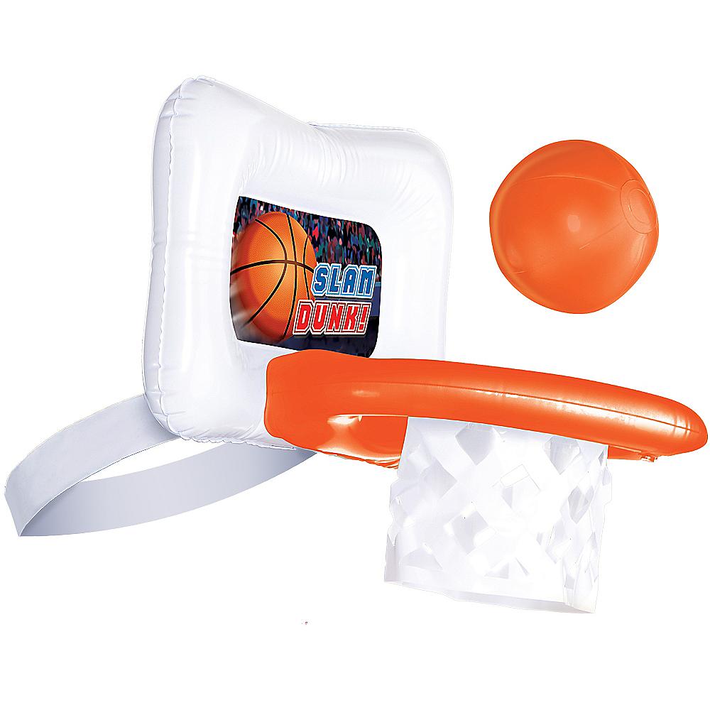 Inflatable Basketball Game Hat Image #1