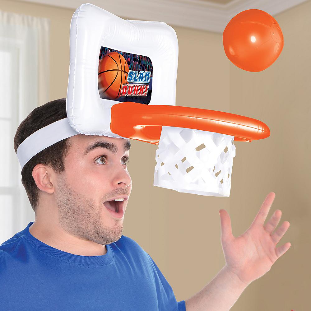 Inflatable Basketball Game Hat Image #2