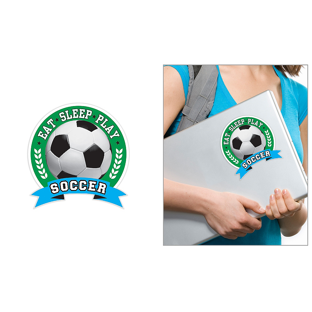 Soccer Ball Decal Image #1