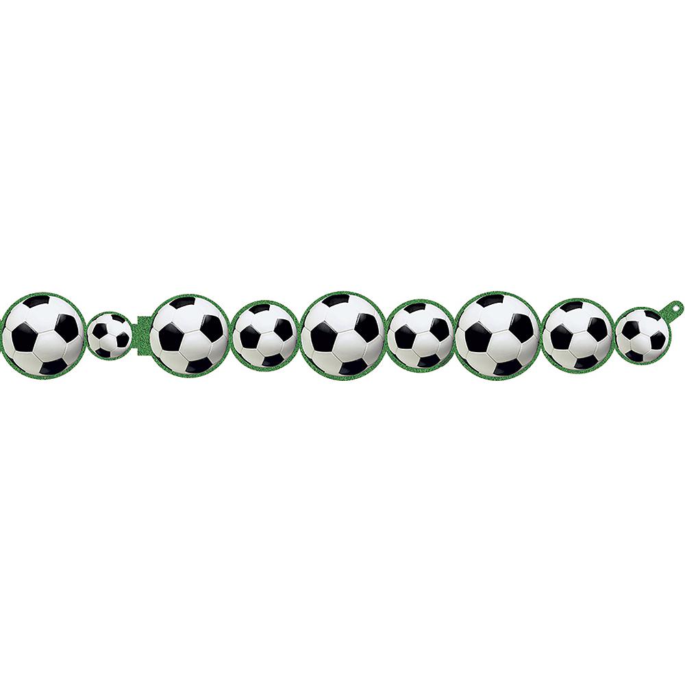 Soccer Ball Paper Garland Image #1