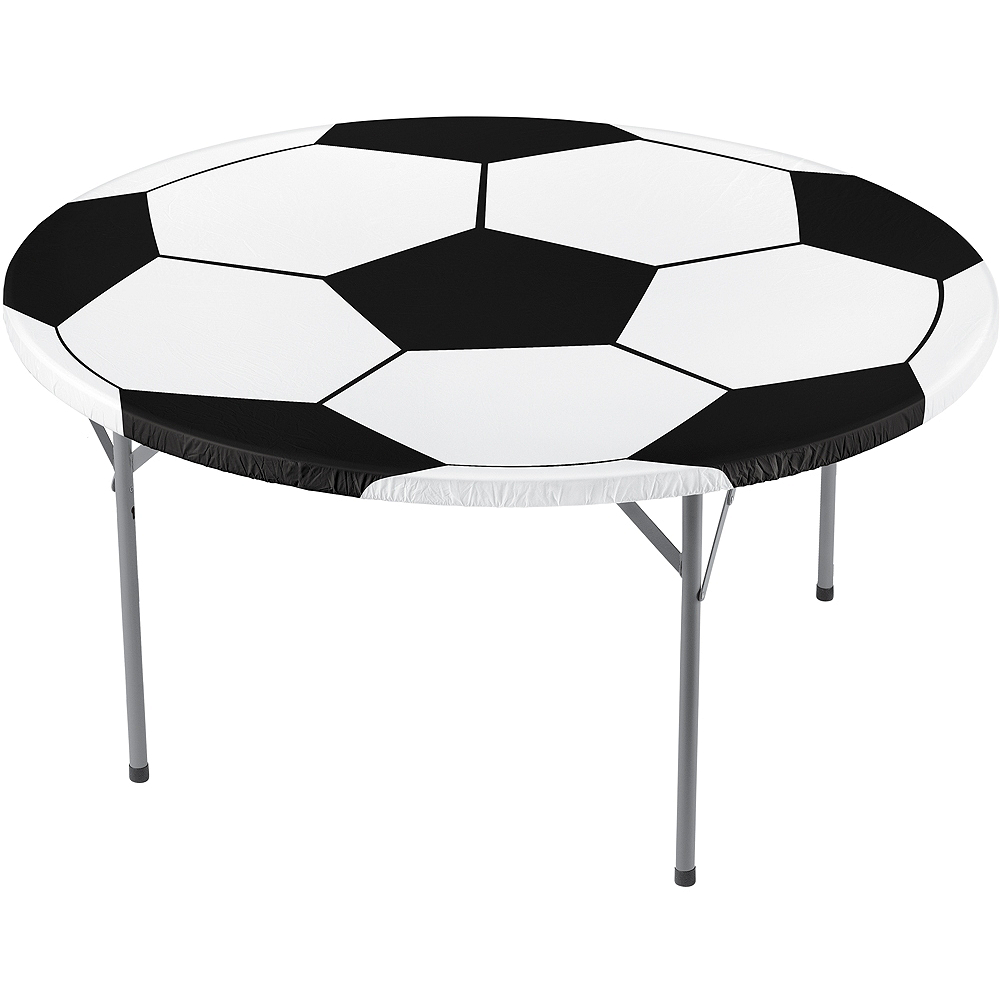 Fitted Soccer Ball Table Cover Image #1