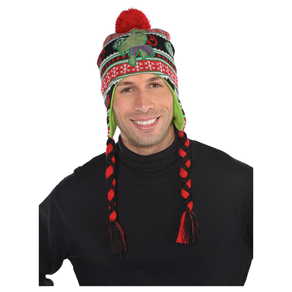 Hulk Christmas Peruvian Hat Image #2