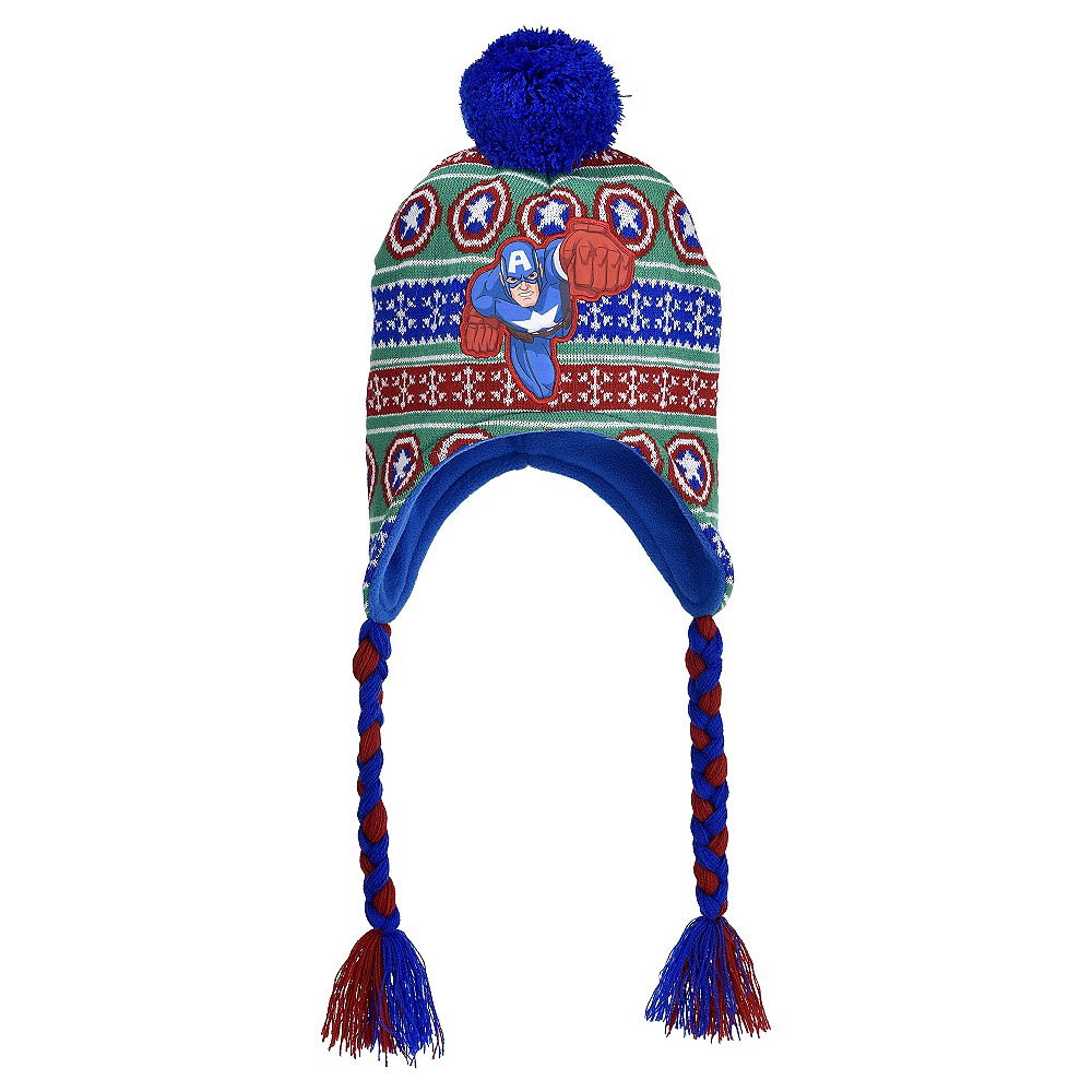 Child Captain America Christmas Peruvian Hat Image #1