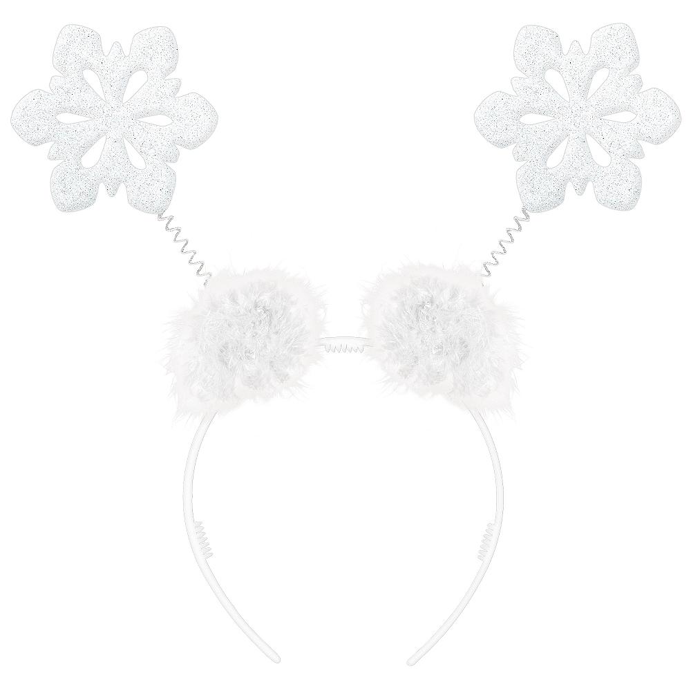Glitter Snowflake Head Bopper Image #1