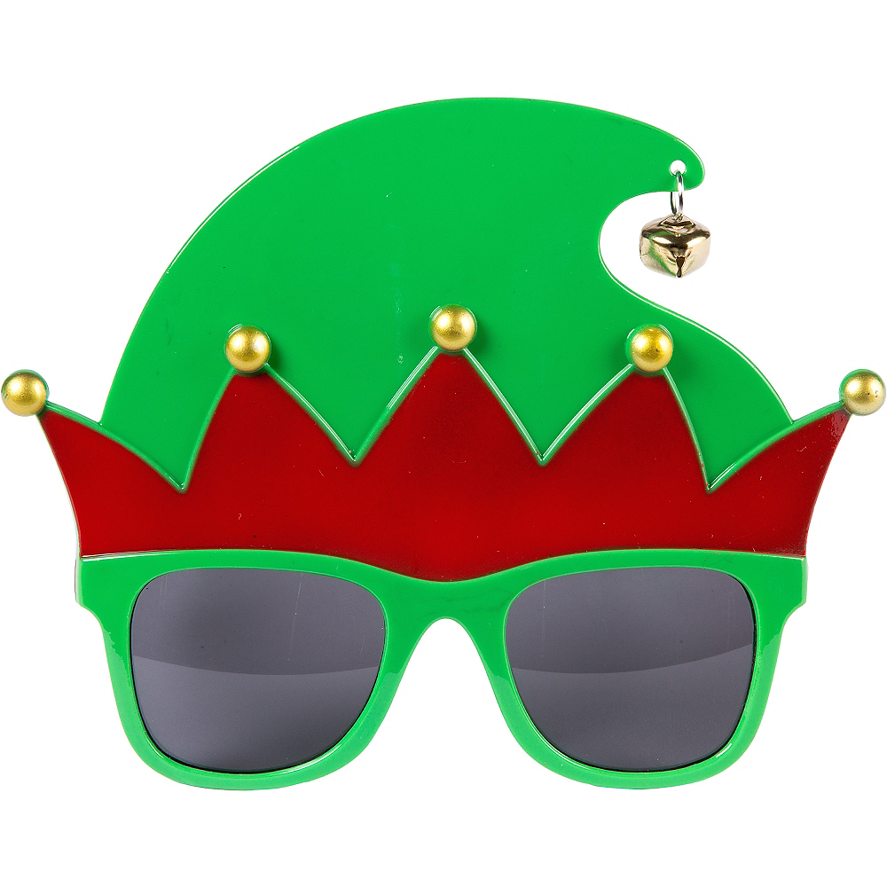 Nav Item for Elf Hat Sunglasses Image #1