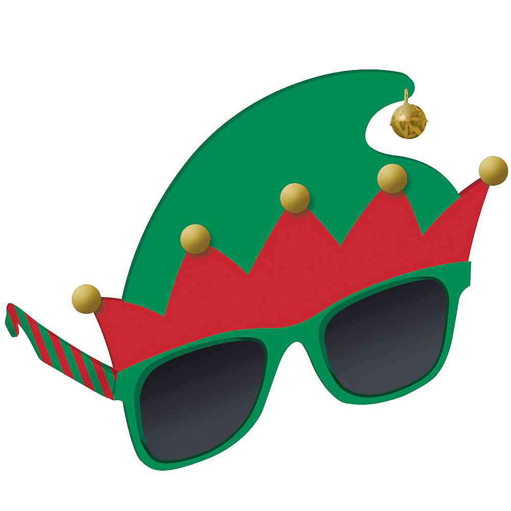 Nav Item for Elf Hat Sunglasses Image #2