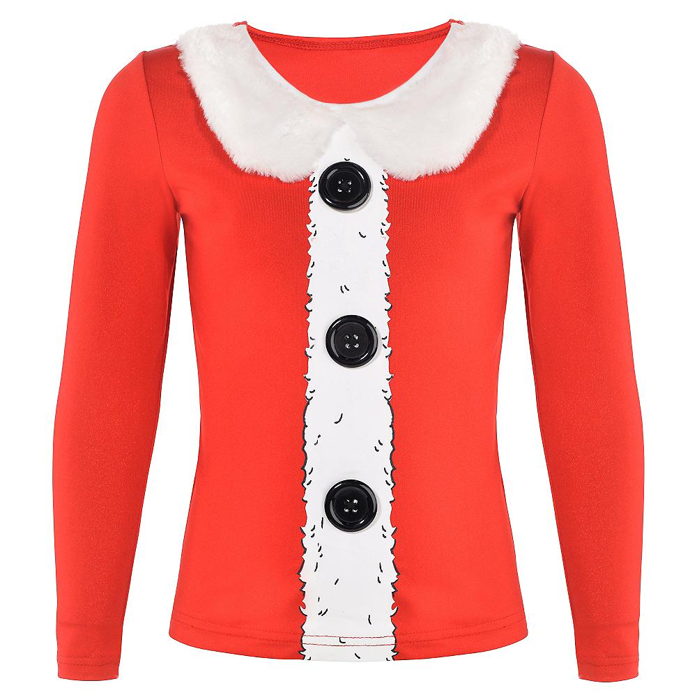 Girls Santa Long-Sleeve Shirt Image #1