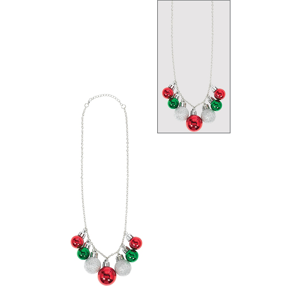 Christmas Ornament Necklace Image #1
