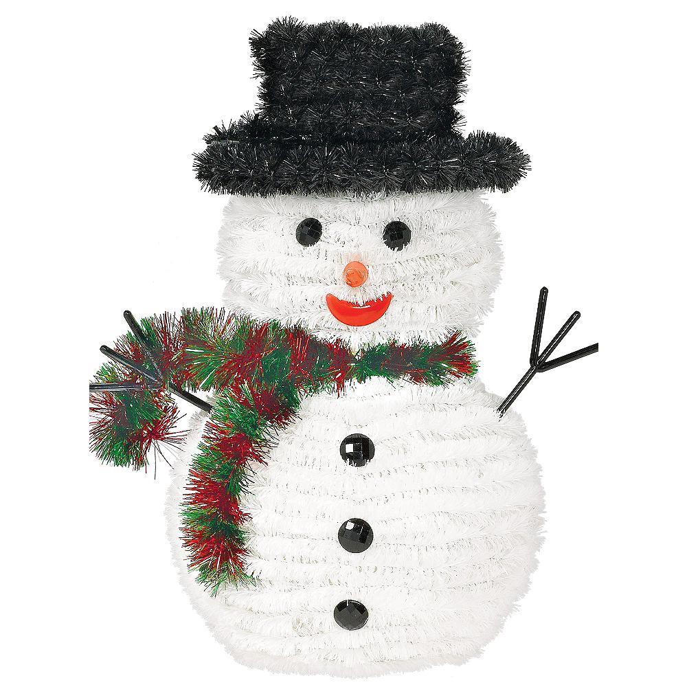 Tinsel Snowman Image #1