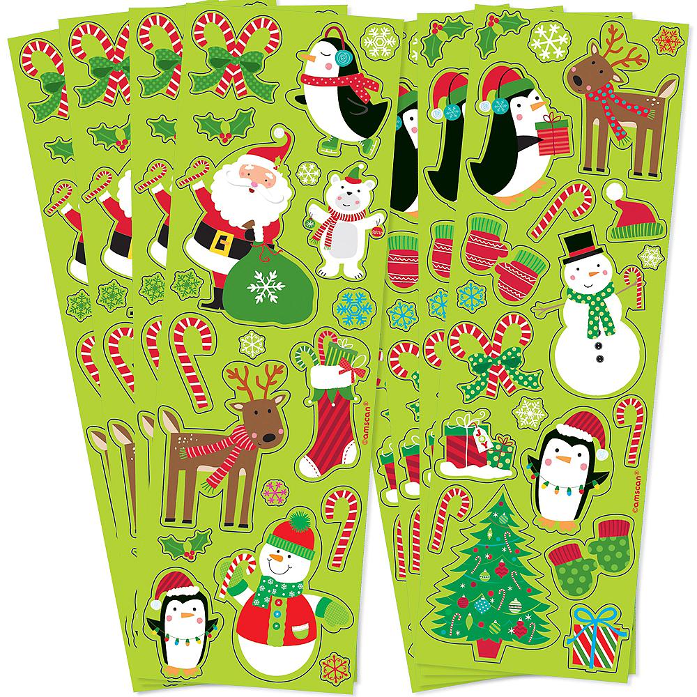 Christmas Fun Stickers 8 Sheets Image #1