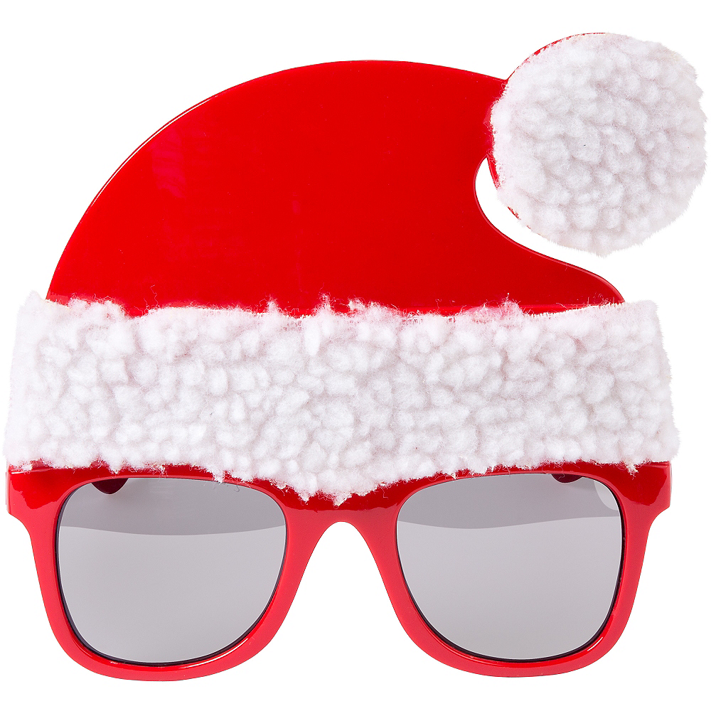 Santa Hat Sunglasses Image #1