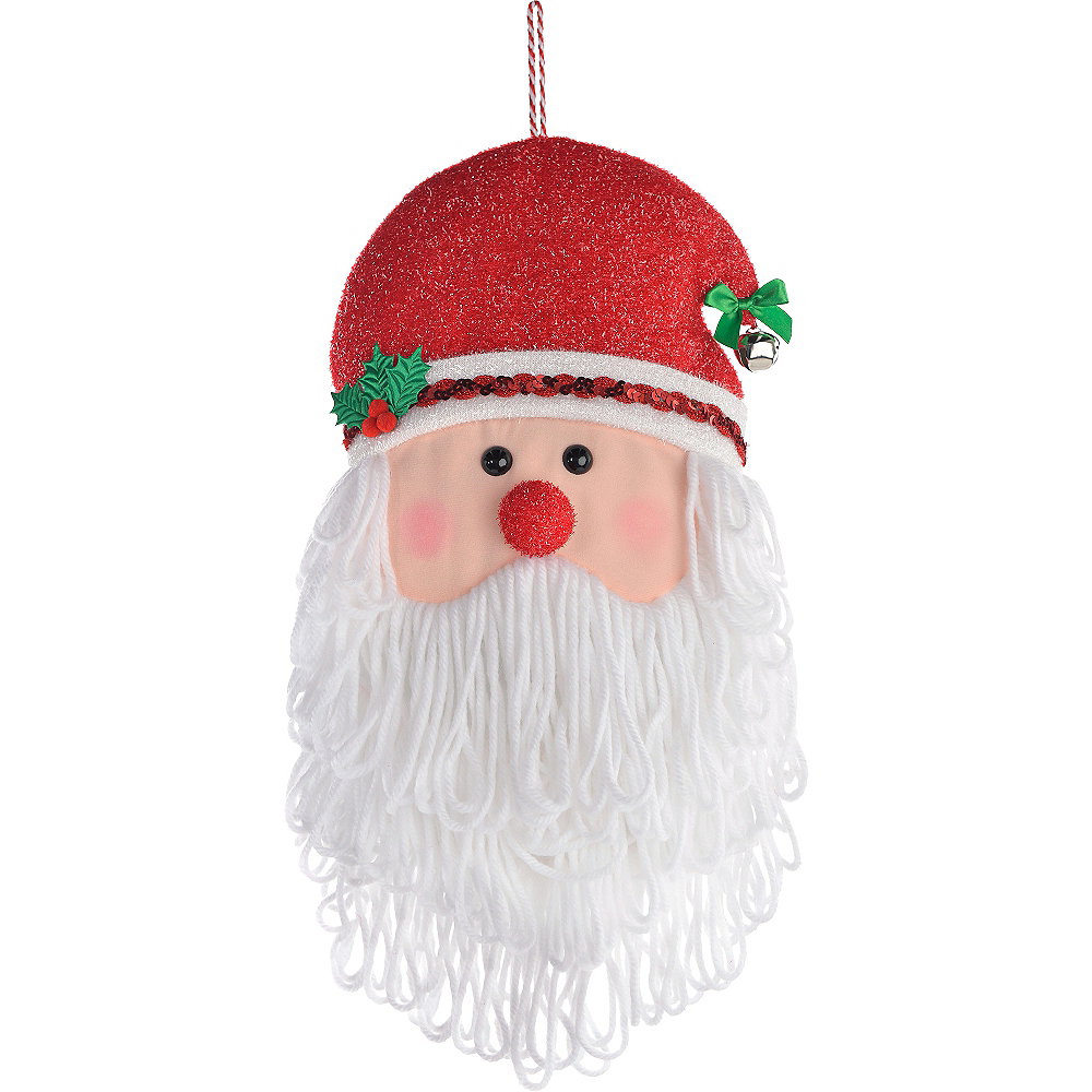 Nav Item for Santa Head Plush Image #1